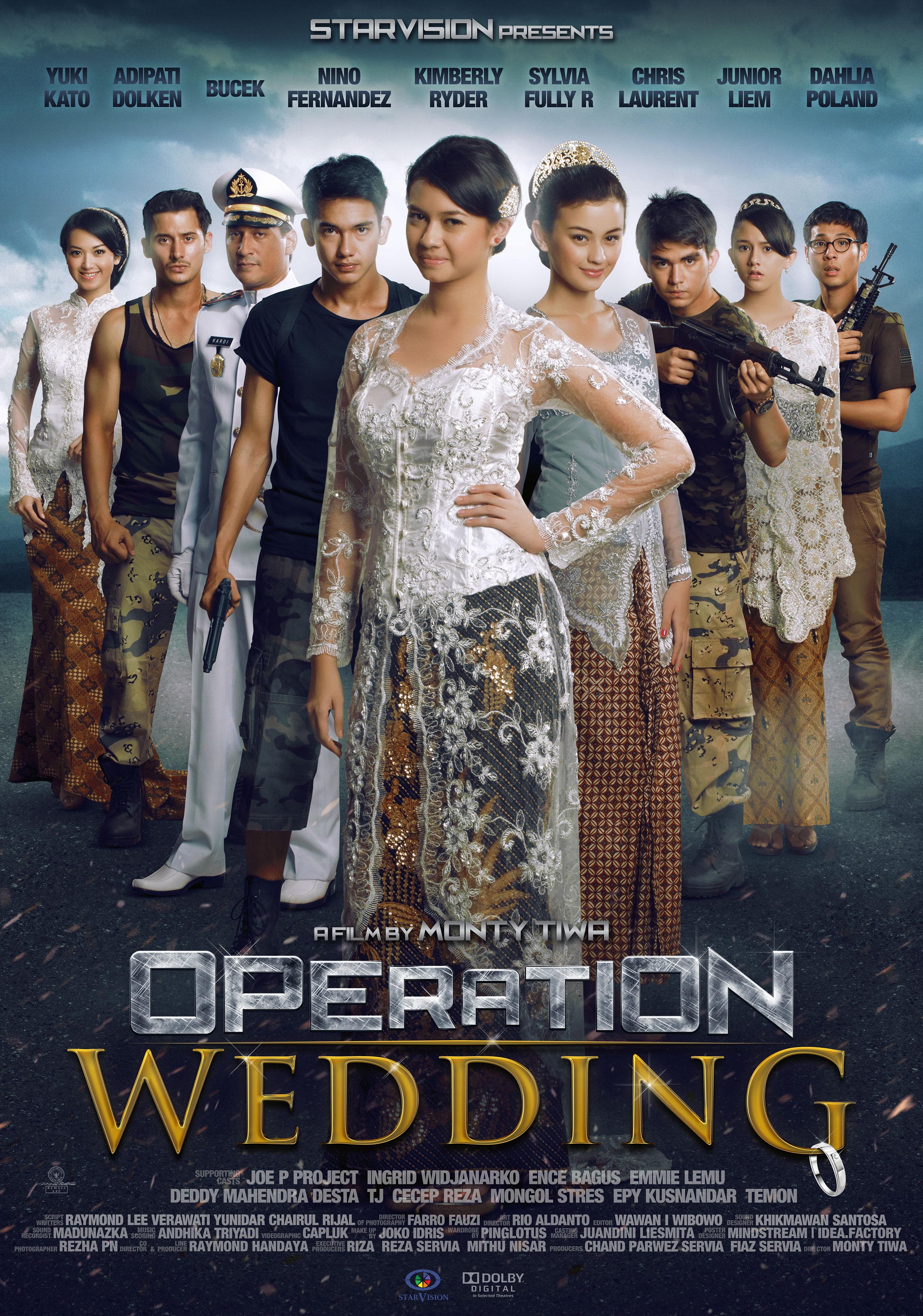 Yuki Kato-Adipati Dolken: Ayo Nonton Operation Wedding Bareng Orang yg ...