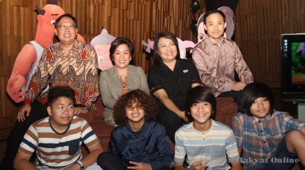 Coboy Junior Jadi Host Film Kartun di Indosiar [Photo Credit: Pikiran Rakyat Online]