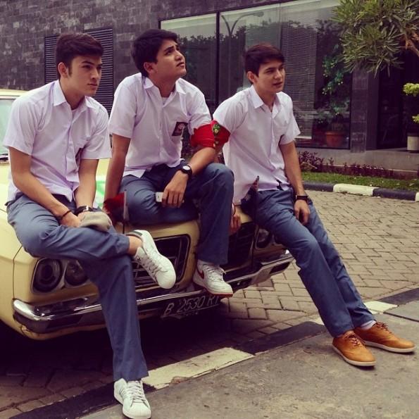 Rizky Nazar, Rizky Alatas dan Marcell Darwin Pemain Sinetron Tiba - Tiba Cinta