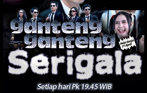 GGS alias Ganteng-ganteng Serigala sinetron di SCTV yang mendapat peringkat 1 (rating tertinggi)