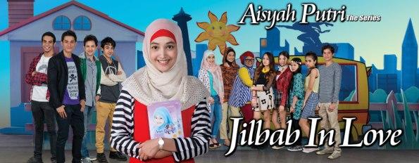 Banner Sinetron dari Website Resmi RCTI: Aisyah Putri The Series: Jilbab in Love