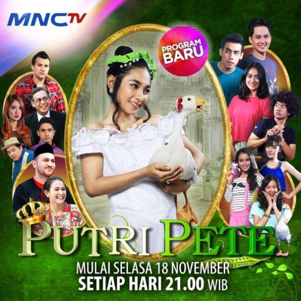 Poster Putri Pete Sinetron Serial di MNCTV yang dibintangi Dinda Kirana