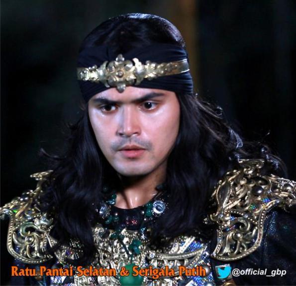 Screenshoot Teater Legenda Indonesia yang berjudul Ratu Pantai Selatan dan Serigala Putih yang tayang di Trans 7 yang dibintangi oleh Ahmad Affandy