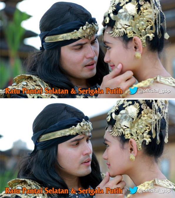 Dalam Sinetron Lepas berjudul Ratu Pantai Selatan dan Serigala Putih, Anindika Widya berperan sebagai Dewi Lanjar